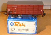 Roco 844 H0 gedeckter Güterwagen Gh München DRG Ep.2 in OVP mit Pulverflaggen