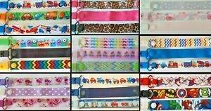 3 PACK / BOY / GIRL /  Dummy Clips / Dummy Clip / Pacifier Clips / Soother Chain