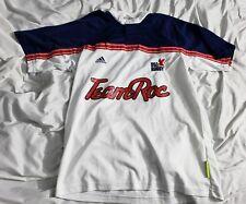 MENS LARGE VTG 90s Adidas USA Rugby Jersey TEAM ROC Medium