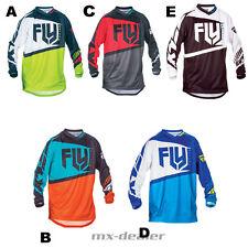 FLY Racing F-16 rot blau schwarz Trikot Jersey mx motocross Enduro Quad MTB BMX