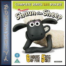 SHAUN THE SHEEP - COMPLETE SERIES 3 & 4 *BRAND NEW DVD***