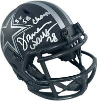 Darren Woodson autograph signed inscribed eclipse mini helmet Dallas Cowboys JSA
