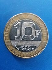 10 francs France 1989 Génie de la Bastille