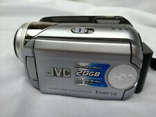 JVC MG21 20 GB Camcorder - Silver, Excellent Condition, Full Working Order