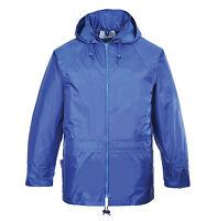 Waterproof Rain Jacket mens/womens lightweight over coat Portwest S-4XL  S440