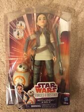 Star Wars Forces Of Destiny Rey Of Jakku & BB-8 BRAND NEW