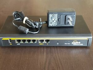 Peplink Balance 20 Dual WAN Router with Power Supply - USED BPL-021 Firmware 8.1
