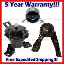 M084 Fits 2004-2006 Mitsubishi Lancer Ralliart 2.4L Engine Motor Mount 3pcs