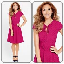 Polyester Casual Spotted Dresses for Women