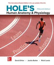 Hole's Human Anatomy & Physiology by David N. Shier 15th International Edition