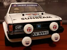 Lotus Sunbeam rally car on Tamiya TT02 chassis. Brand new, unused and RTR