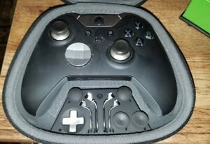 Microsoft Xbox One Elite Wireless Controller Series 1 (Model no: 1698) - Black
