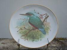 Assiette porcelaine décor oiseau J C Van Hunnik porcelaine W.germany Kaiser