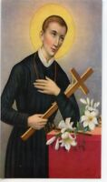 St. Gerard Prayer - Relic Laminated Holy Card - Blessed by Pope Francis