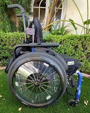 Quickie 5R Ultralight Rigid Wheelchair Nature Fit Handrails J3 Drop Backrest