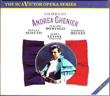 GIORDANO: ANDREA CHENIER Placido DOMINGO Renata SCOTTO EWING MILNES LEVINE 2CD