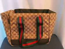 GUCCI Dog Carry Bag Pet Carrier Bag  For small dogs Excellent Authentic