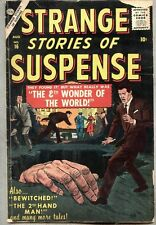Strange Stories Of Suspense #16-1957 vg/gd Marvel Atlas last issue Matt Fox