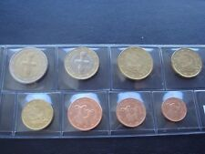 Cyprus 2010 year UNC coin set from 1 cent - 2 euro total 8 coins 3,88 euro SHIP