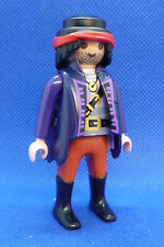 Playmobil SG-3 Pirate Man Figure Long Coat Captain