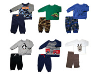 *NWT- CARTER'S - BABY BOY'S 2-PC FLEECE OUTFIT SET - SIZES: 0-3M - 24M