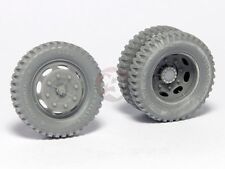 Panzer Art 1/35 Road Wheels for KHD S3000 Lkw Truck WWII (Gelande Pat.) RE35-351