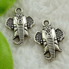 Free Ship 160 pieces tibet silver trunk charms 22x16mm #1604