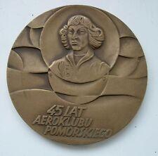 POLISH POLAND ASTRONOMY COPERNICUS MATHEMATICIAN TORUN medal