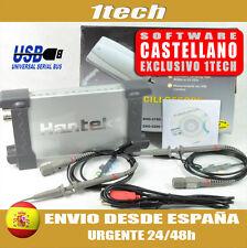 Osciloscopio USB para PC Hantek 6022BE (NACEX 24h)  Electronica y automoción
