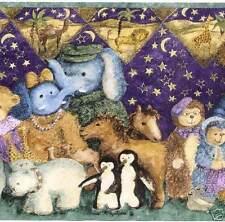 Anna Krajewski Noah's Ark Childrens Wallpaper Border