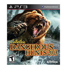 Cabela's Dangerous Hunts 2013  (Sony Playstation 3, 2012) PS3 Used Complete