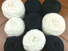 Mixed Lot 521 Yarn Salt N Pepper Cakes Crochet Knit Craft