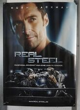 DS10059 - KINOPLAKAT - Hugh Jackman - REAL STEEL