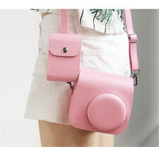 New Camera Case Bag for Instax Mini 8 + PU Collecting Films Accessories bag Pink