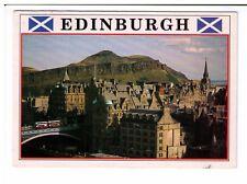 Postcard: View across the bridges from Scott Monument, Edinburgh, Scotland