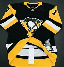 Adidas Authentic Pittsburgh Penguins Kessel FIGHT STRAP Jersey sz 42 (460)