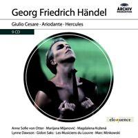 MINKOWSKI/MUSICIENS DU LOUVRE - GIULIO CESARE,ARIODANTE,HERCULES(ELOQUENCE)9 CD