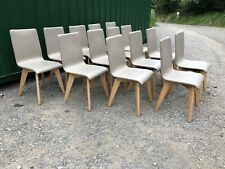 More details for set of 14 restaurant dining chairs (bar / cafe / bistro / pub chairs)