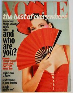 1977 Paris Collections Vogue 70s vintage fashion Bailey Guy Bourdin YSL