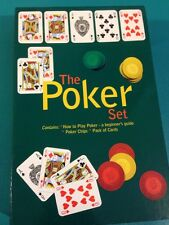 The Poker Set by Chartwell Books Staff - Boxed Book Cards & Chips
