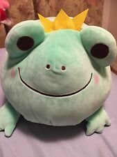 New Japan imported huge 50cm Frog prince plush marshmallow soft Rare toy pillow