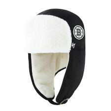 Boston Bruins NHL Lettermen '47 Trapper Hat Cap Adjustable Sherpa Bomber Men's B