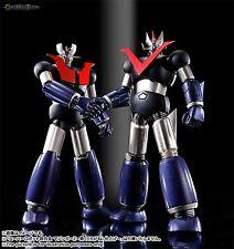 BANDAI Super Robot Chogokin SR Mazinger Z & GREAT MAZINGER Kurogane Finish NEW