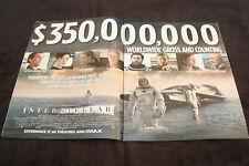 INTERSTELLAR Oscar ad with cast, Casey Affleck & KILL THE MESSENGER Ethan Hawke