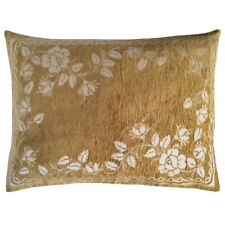 Upholstery/Chenille Rose Mustard 22x30 Farm Solid/Tough Pillowcase/Cushion Cover
