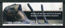 España 2019 estampillada sin montar o nunca montada Museo de Bellas Artes de Bilbao 1v Set Museos Arte pinturas sellos