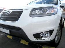 2 Chrome Front Foglight FogLight Cover Garnish for Hyundai Santa Fe CM 2010-2012