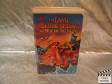 The Land Before Time V The Mysterious Island VHS Large Case Animated