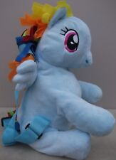 My Little Pony RAINBOW DASH Soft Plush BACKPACK With Adjustable Straps