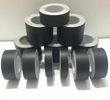 Matt Flat Black Vinyl Tape, Automotive Grade, Self-adhesive DIY Sticker Decal